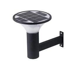 Lâmpada exterior do sensor de movimento do radar da luz solar para jardim Solar Luz de parede LED