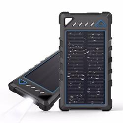 [Kingmaster] (7.14-8$) солнечной энергии в банк 2 портов зарядное устройство 8000Мач 20000 Ма 2 СВЕТОДИОДНЫЙ ИНДИКАТОР с Компас