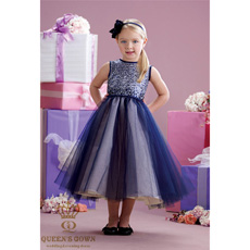 Flower Girl Dress (XZ388)