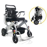 Ce Mini SGS léger handicapés fauteuil roulant électrique de puissance de pliage