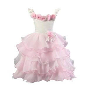 La Robe de Fille de Fleur Modèle Robes de Robes de Mariage de Belles pour Des Enfants