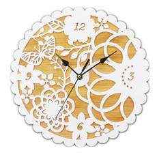 Бамбук акриловый стенки часы для дома украшения