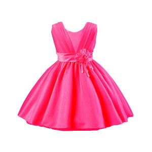 Robe de Fille D'enfants de Fleur, Enfants Vêtant, Robe Wedding D'enfants
