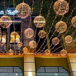 Natal Animal 3D para o Festival de Luz LED Motif