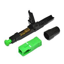Montaje en Campo FTTH Fibra Óptica SC/APC Conector Rápido