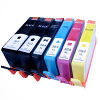 Cartucho de tinta compatível 364xl para HP