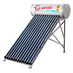 chauffe-eau solaire haute efficacité conduit de chaleur sous pression pour la maison/école/hôtel