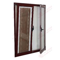 O alumínio/Inclinação de alumínio e gire a janela com persianas embutido (BHA-CW34)