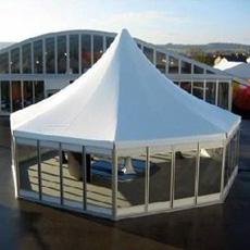 Exposition professionnelle PVC tente d'aluminium
