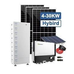 Hot Vente Panneau solaire 100W Accueil Système de générateur d'éclairage solaire