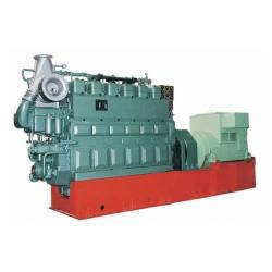 Saída de corrente trifásica CA 700kw conjunto gerador de gás de biomassa com marcação, ISO, BV