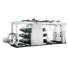4 couleur à haute vitesse machine d'impression flexo de papier kraft