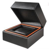 Madeira Relógio Caixa de embalagem Velvet Couro Relógio de papel Relógio de armazenamento Relógio de embalagem Caixa de embalagem de presente de presente (YS93)