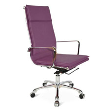 Chaise de Emballage Pourpre de Jeu de Bureau de Siège (GV-OC-H305)