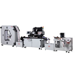 Totalmente Automática impressora serigráfica UV