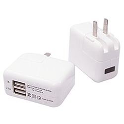 Два порта USB Traval 3.1A настенное зарядное устройство для iPad 2 PRO воздуха Mini 3 4 iPhone 7 плюс 6 Samsung примечание 7 5 S6-S7