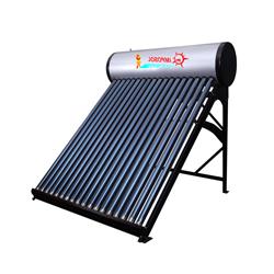 Presión calentador de agua solar