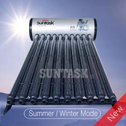 Compacta para No Presión del Tubo de Vacío Calentador de Agua Solar 200L