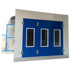 Prix inférieur de bonne qualité de type Spray Standard voiture Booth/cabine de peinture