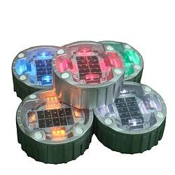 Vidrio Solar Solar LED Luz Subterránea de Ladrillo de Hielo