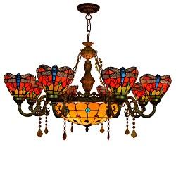 Venda Por Grosso de Fábrica Lustre CE para o Quarto Iluminação (GD-9101-3)