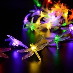 24ft Cadena Impermeable al Aire Libre de las Luces LED de Luces Patio Trasero Luz de la Cadena Comercial