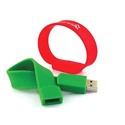 Libre de la Muñequera Logotipo de la Unidad Flash USB 8GB, 16GB, 32GB para Elegir (SWD)