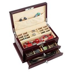 Caixa de Inspecção E Vigilância Personalizados de Luxo/um Conjunto Caixa de Jóias Por Grosso