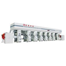 Máquina de impressão de alta velocidade do Gravure da folha de alumínio