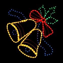 Acrílico Motif LED Parpadea la Luz de Copo de Nieve para la Decoración del Hogar