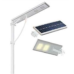 40W 60W à LED Panneau solaire Rue lumière solaire intégré tout-en-un rue LED lampe solaire