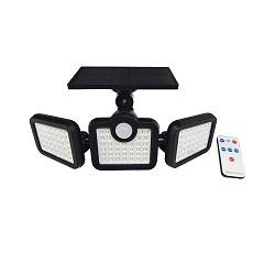 Capteur étanche à LED Wall Lamp jardin extérieur de la rue lumière solaire