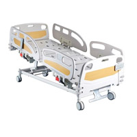 HK-N002 Eléctrico Deluxe cama UCI (médica la cama, cama de hospital)