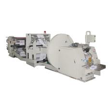 Máquina de Fabricación de Bolsa de Papel en Línea con Máquina de Impresión