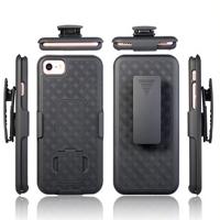 2018 Nouvelle conception Téléphone cellulaire avec clip de ceinture de cas et de béquille pour iPhone 7
