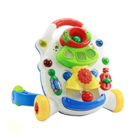 Juguete de plástico de música del cochecito de bebé (H0001160)