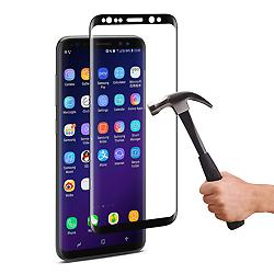 2017 Nuevo dispositivo 3D Full accesorios para teléfonos móviles/celulares de cobertura de vidrio templado Protector de Pantalla para Samsung, Samsung Galaxy Note8