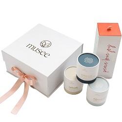 Venda por grosso de papel magnético rígido personalizado de Embalagem Caixa dobrável