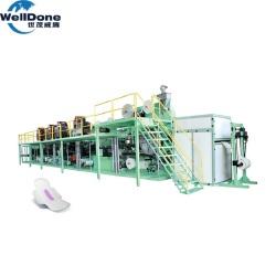 máquina para fabricar toallas sanitarias de alta velocidad (RL-WSJ-500)
