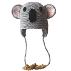 Cute Animal Crochet Hat, la tapa (JRAD032)