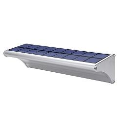 Cerca del Sensor de Movimiento Decorativa Luz Solar Iluminación del Jardín al Aire Libre de Pared