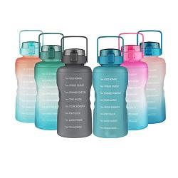 A nova garrafa de água Desportivos Portáteis exterior 500ml 700ml Espaço Drinkware Plástico Cup Balcão Travel caneca com tampa
