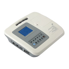 Máquina de ECG de três canais com homologação CE