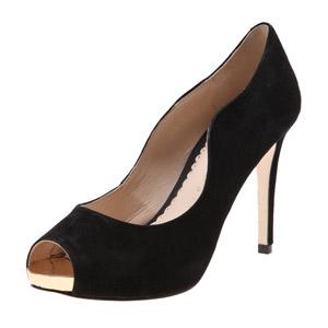 Новые моды высокого каблука указывает носком Кожаные босоножки женщин
