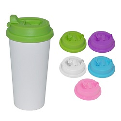 Caneca de café plástica relativa à promoção, caneca do curso (R-2074)