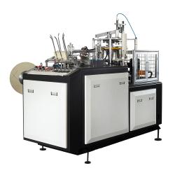 Máquina de hacer doble copa PE/bebida caliente y fría máquina de vasos de papel