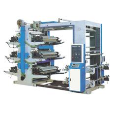 Tipo máquina da pilha das Quatro-Cores de impressão de Flexo