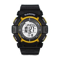 Relógio de esportes de pulso relógio com altímetro, barómetro, bússola, funções de podómetro para esportes ao ar livre (QT-FR820A)
