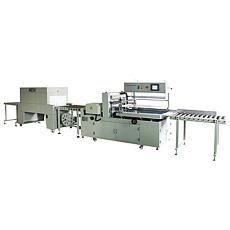 D'étanchéité latéral automatique Machine d'emballage rétractable à chaud
