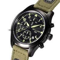 Gran dial a prueba de golpes de cuarzo relojes negocio deportivo multifuncional de la moda 2016 Ver